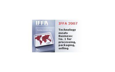 IFFA 2007, un evento mondiale