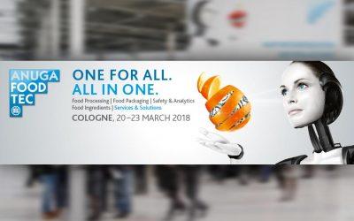 Inox Meccanica parteciperà alla fiera Anuga FoodTec