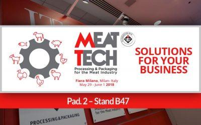 Inox Meccanica vi invita a MEAT-TECH 2018