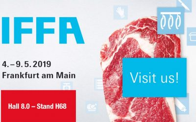 Our new technologies that we will present at the IFFA exhibition from 04th to 09th of may