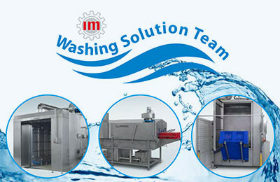 Special washing systems for the food industry